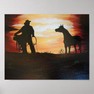 日没の乗車 ポスター