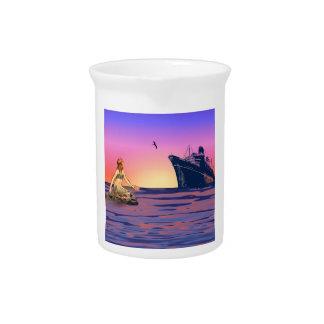 日没の人魚 ピッチャー