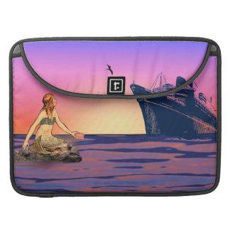 日没の人魚 MacBook PROスリーブ