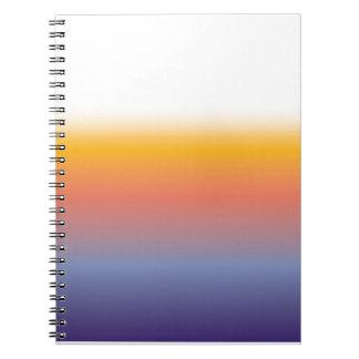 日没の写真のノート(80ページB&W) ノートブック