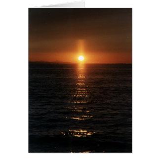 日没の十字 グリーティングカード