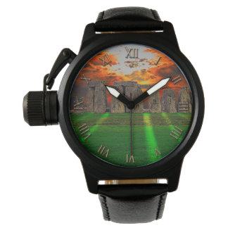日没の古代歴史恋人のStonehenge 腕時計