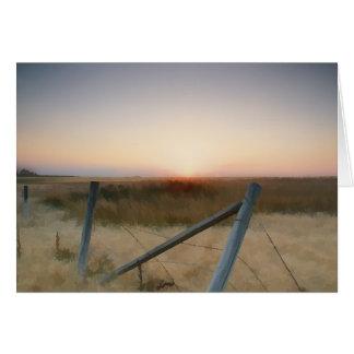 日没の塀 カード