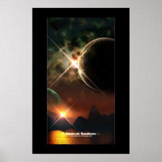 日没の夜明け ポスター