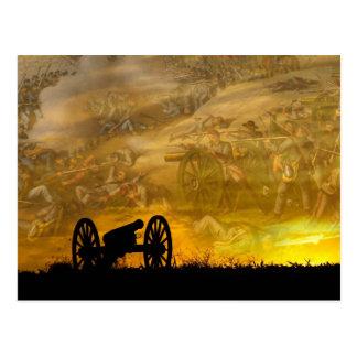 日没の大砲、Antietamの国民の戦場 ポストカード