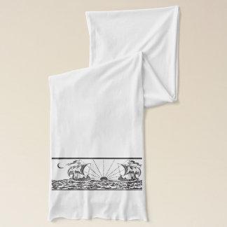 日没の帆船 スカーフ