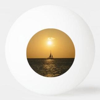 日没の帆 卓球ボール