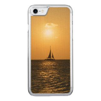 日没の帆 CARVED iPhone 8/7 ケース