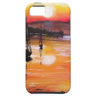 日没の帆 iPhone SE/5/5s ケース