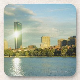 日没の建物、ジョンハンコックタワー、ボストン、 コースター