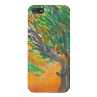 日没の木のiPhoneの場合 iPhone 5 ケース