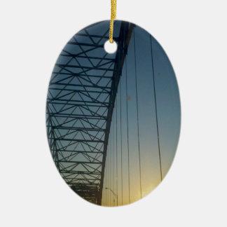 日没の橋 セラミックオーナメント