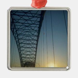 日没の橋 メタルオーナメント