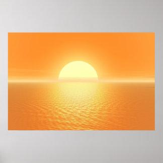 日没の歓喜 ポスター