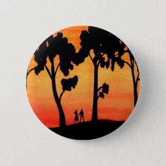 日没の歩行 缶バッジ