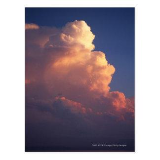 日没の海上の雲 ポストカード