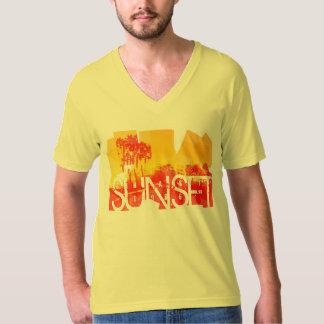日没の海岸1986年 Tシャツ