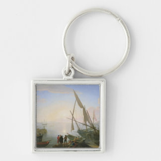 日没の海港 キーホルダー