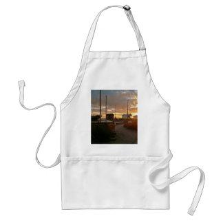 日没の漁船 スタンダードエプロン