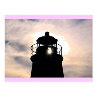 日没の灯台 ポストカード