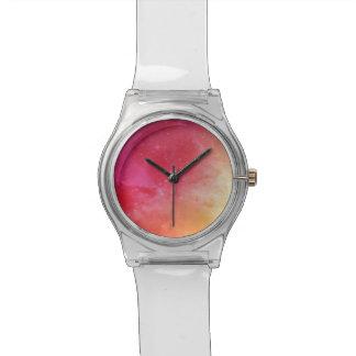 日没の空の腕時計 腕時計