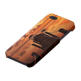 日没の空 iPhone 5 ケース