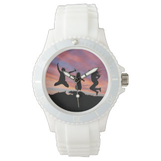 日没の腕時計の跳躍 腕時計