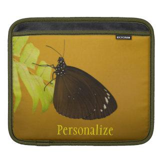 日没の蝶デザイン iPadスリーブ