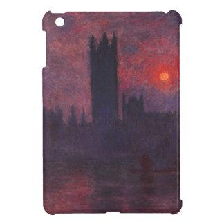 日没の議会のMonetの家 iPad Miniケース