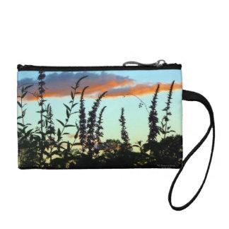 日没の財布の高い草 コインパース