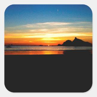 日没の遠い現実 スクエアシール