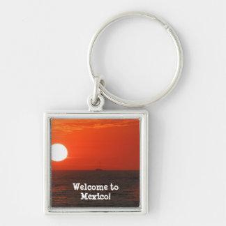 日没の酒宴の巡航; メキシコの記念品 キーホルダー