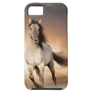 日没の野生の種馬のランニング iPhone SE/5/5s ケース