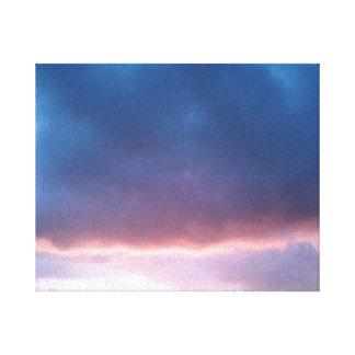 日没の2016年6月のキャンバス2 キャンバスプリント