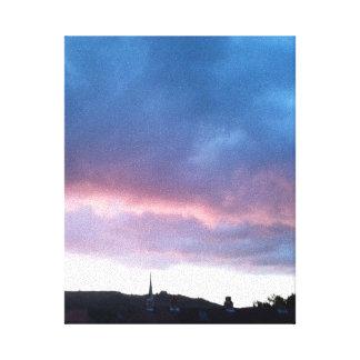 日没の2016年6月のキャンバス4a キャンバスプリント