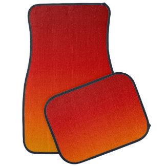 日没の(黄橙色の夕べ色は衰退します) ~ カーマット