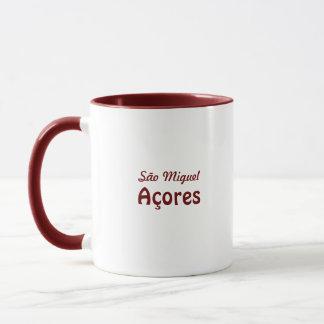 日没のAzorean町 マグカップ