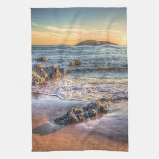日没のBanthamからのBurghの島… キッチンタオル