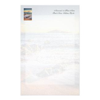 日没のBanthamからのBurghの島… 便箋