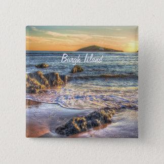 日没のBanthamからのBurghの島… 缶バッジ