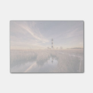 日没のBodieの島の灯台 ポストイット