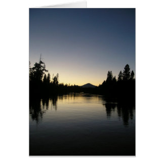 日没のDeschutes カード