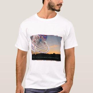日没のEzekielの車輪 Tシャツ
