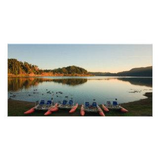 日没のFurnas湖 カード