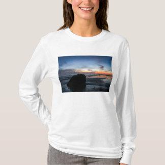 日没のHandryのビーチ Tシャツ