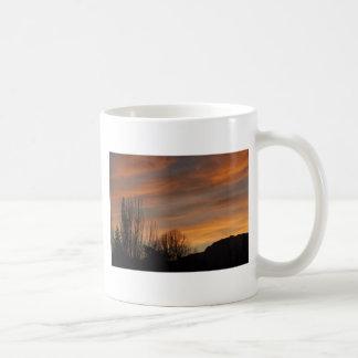 日没のSkyscapeのマグ コーヒーマグカップ