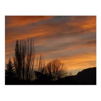 日没のSkyscapeカード ポストカード