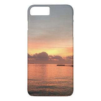 日没モルディブ- iPhone 7のプラスの場合 iPhone 8 Plus/7 Plusケース