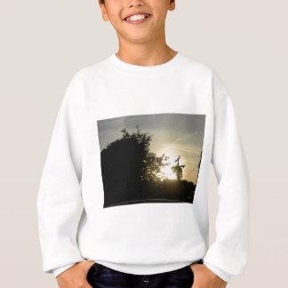 日没ライト輝やきの写真 スウェットシャツ