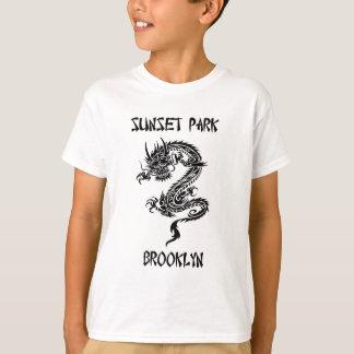 日没公園ブルックリン Tシャツ